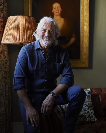 Robin Hutson, founder of The Pig Hotels, has launched The Seat At The Table campaign. Photo: Jake Ea