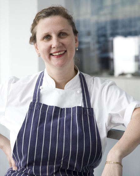 Angela Hartnett is a big supporter of the 'Seat At The Table' campaign. Photo: Seat At The Table