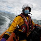 Torbay RNLI Deputy Coxswain James Hoare is fronting the RNLI's Christmas appeal in the South West. P
