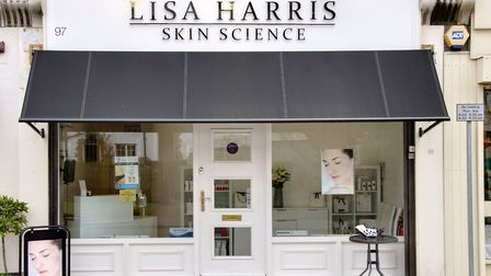 Lisa Harris Skin Science clinic in Weybridge. Photo: Lisa Harris Skin Science