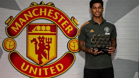 Marcus Rashford, recipient of the This is Manchester Supernova Award Photo: This is Manchester
