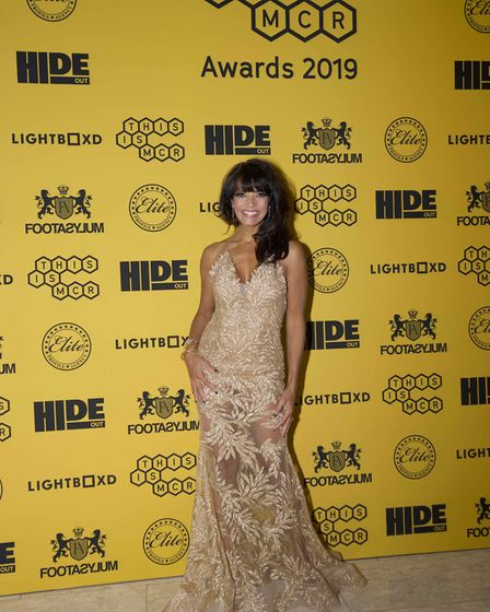 Jenny Powell, presenter, pictured at the 2019 This is Manchester Awards Photo: Bach Nguyen