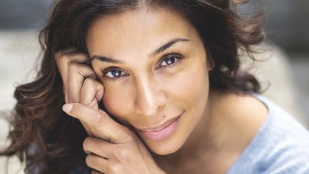 The very beautiful and natural Shobna Gulati
