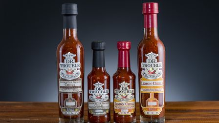 African Lemon Chilli and Oak Smoked Chilli sauce from Dr Trouble. Picture: Dr Trouble