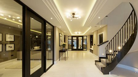 Griggs Homes has developed several properties, ranging from large, stately homes to modern, art-deco