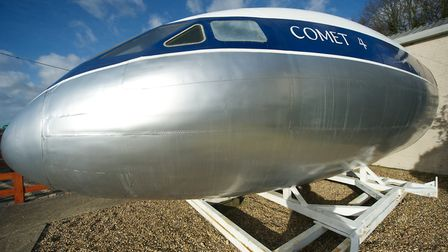 Get up close to one of the first Comet jet airliners at de Havilland Aircraft Museum in London Colne