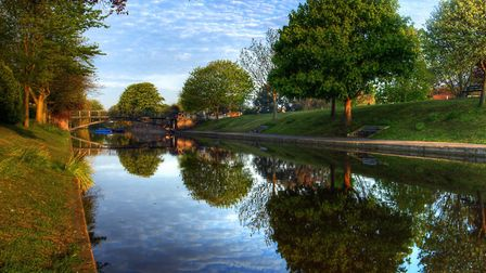 The Royal Military Canal, Hythe (photo: Andy McGowan, Getty Images)