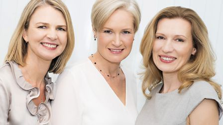 Dr Popelyuk (pictured right) and her partners, Dr Kim Prescott (pictured centre) and Dr Tania Schroe