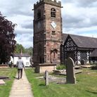 The church of St Oswald - Lower Peover.