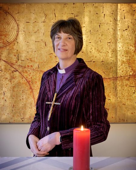 The Bishop of Gloucester, the Right Revd Rachel Treweek.