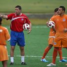 Managing the national and a club team in Puerto Rica was one of the highlights of Adrian's coaching