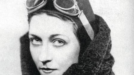 Amy Johnson in 1936. Image: The Print Collector / Alamy Stock Photo