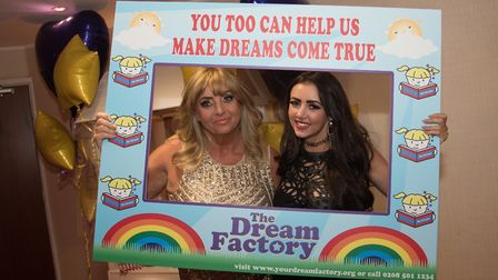 Avril Mill with Lydia Lucy at a previous Dream Factory fundraiser (photo courtesy of The Dream Facto