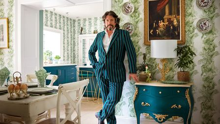 Laurence Llewelyn-Bowen at home