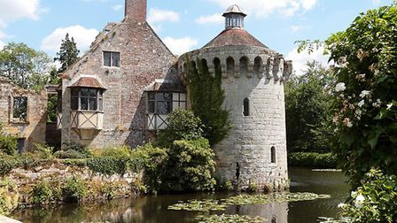 Scotney Castle is one of our picks for prettiest castles in Kent (photo: TerryJLawrence, Getty Image