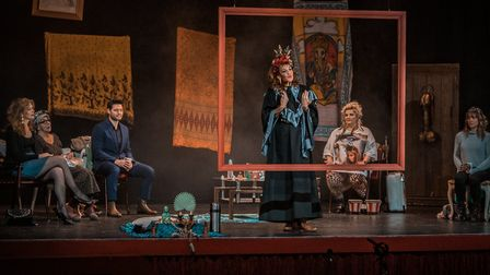 A scene from Catherine's play, which is planned to tour in 2021 Photo: Thomas Pitfield