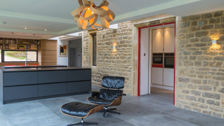Warwickshire Farm - 'the brief was to design an extension to provide a large open plan kitchen, dini