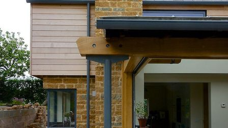 Fern Cottage - 'modern extension for a traditional stone property to create open-plan living, dining