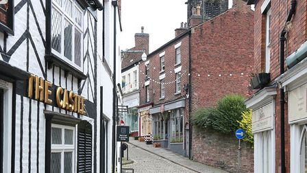 View along Church Street, Macclesfield. Photo: Kirsty Thompson