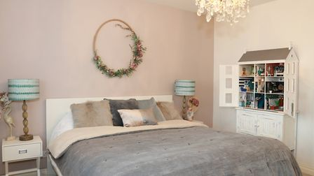 The dolls house that has triggered a business lives in Leanne's bedroom