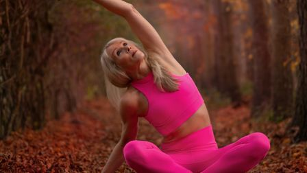 Denise Clarke-Williams promises that yoga is for everyone, and knows from experience that it is neve