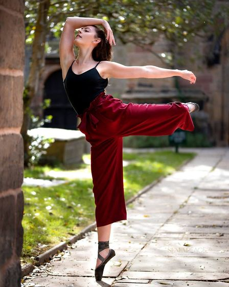 Rachel Maffei says dance has become a freedom: it is a chance to let go and forget about any worries