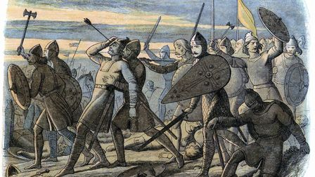 Harold II killed by Norman arrow at Battle of Hastings, 1066. Image: Photos.com/Getty Images
