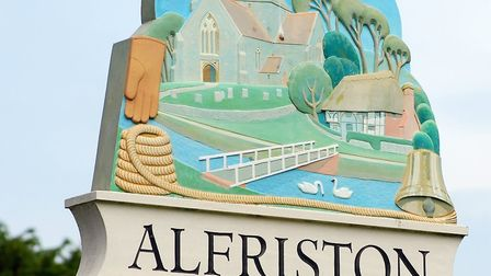 Alfriston's 'new' village sign welcomes visitors