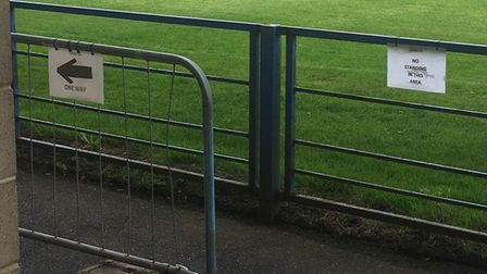 Covid secure measures at Everyone Active Stadium