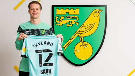Goalkeeper Orjans Nyland signs for Norwich City.