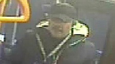 CCTV image of a man police wish to speak to