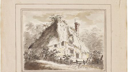 Cottage by Constable