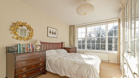 One of the property's four double bedrooms.