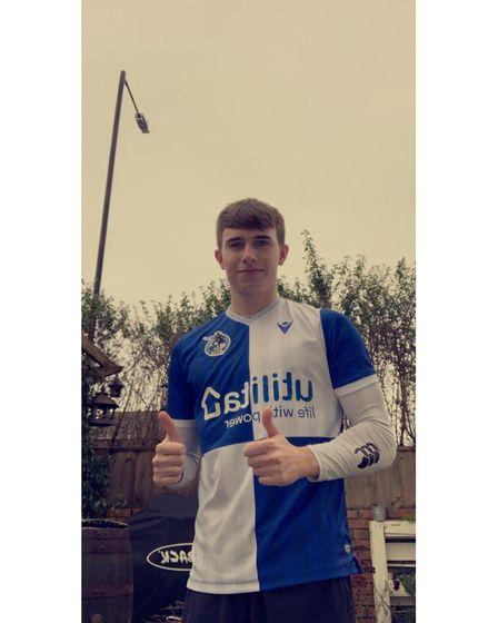 Boyhood Bristol Rovers fan Liam Noble