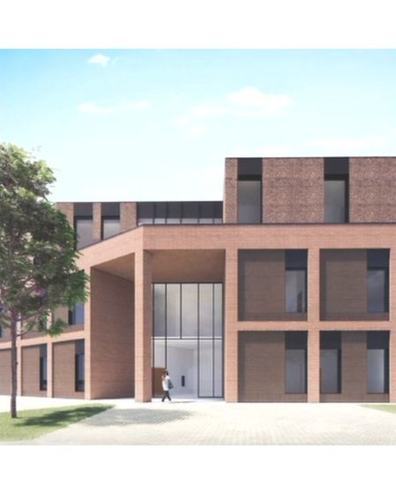 Plans for a new health centre in Hornchurch