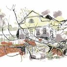 Jacqueline's drawing of Lauderdale House will go on display in a virtual exhibition this month