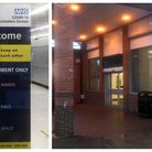 Former Budgens/Co-op store in Horsefair, Wisbech, rapidly been transformed into a Covid-19 vaccination hub. It opens on...