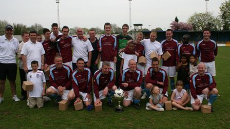 London Road A team photo in 2007