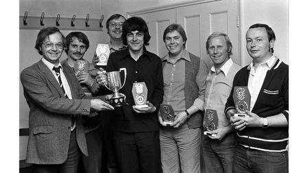 Dixon Darts League finals night in Hadleigh in May 1980