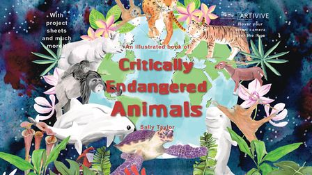 Critically Endangered Animals has been published by Hitchin's Sally Taylor.