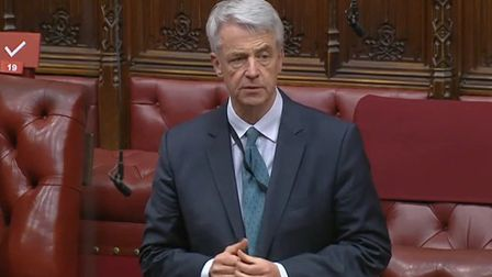 Andrew Lansley in the House of Lords