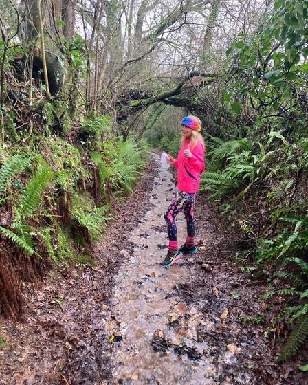 Mud is no match for the Sidmouth runners