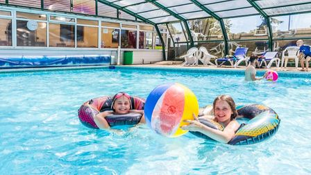 TheAndrewshayes Holiday Park's pool