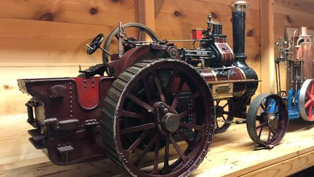 A police appeal has been launched to find the rare model engines.