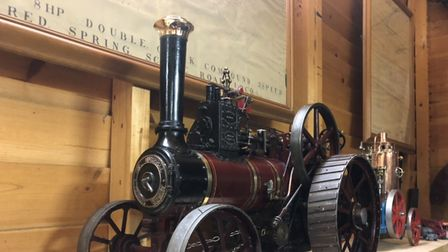 A police appeal has been launched after these rare model engines were stolen from Godmanchester.