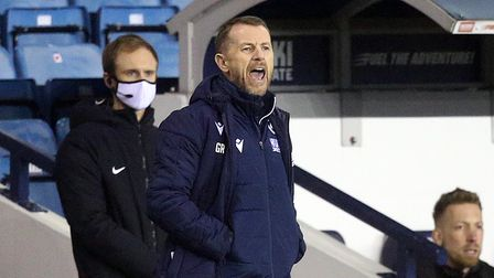 Millwall Manager Gary Rowett during the Sky Bet Championship match at The Den, LondonPicture by Pau