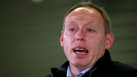 Swansea City manager Steve Cooper speaks to the media at the end of the Sky Bet Championship match a