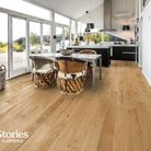 Kahrs solid wood flooring and kitchen interior design