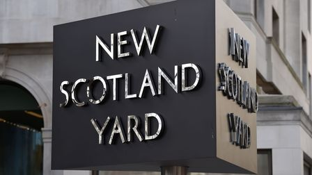 The New Scotland Yard sign