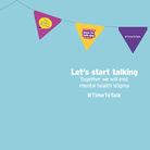 Today is #TimeToTalk Day, held annually by Time to Change
